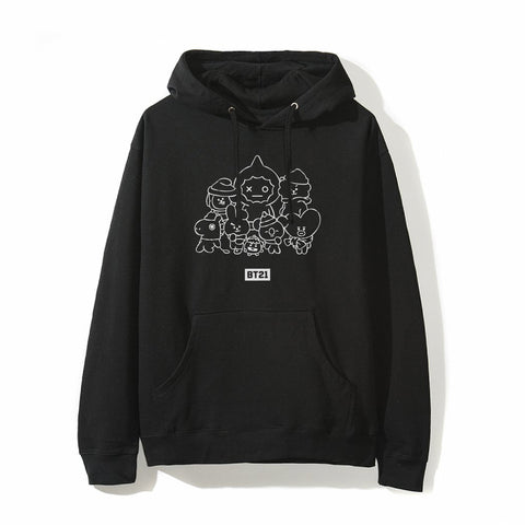 Yearbook Black Hoodie