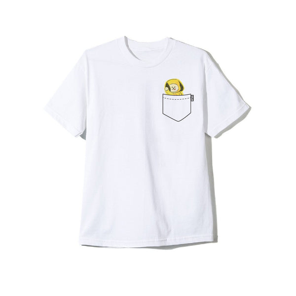 BT21 CHIMMY Doodle White Tee