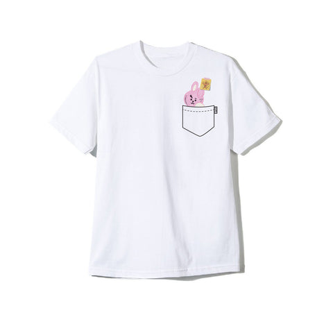 BT21 COOKY Doodle White Tee