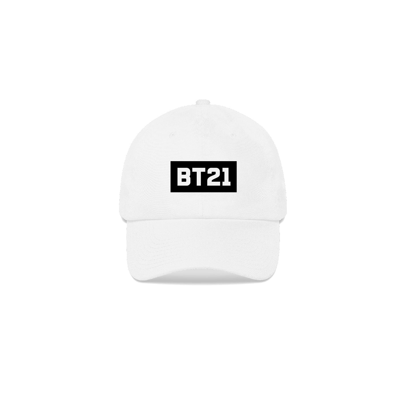 BT21 Logo White Cap