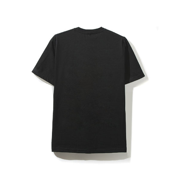 Warped Black Tee