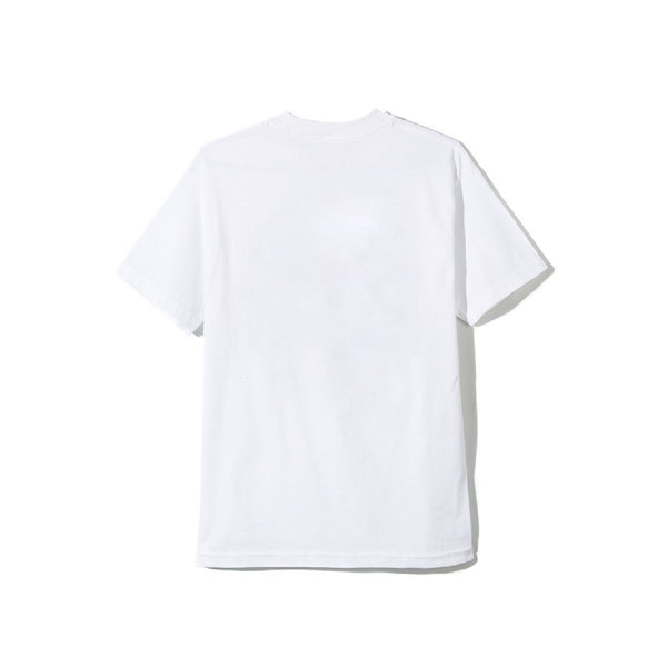 Warped White Tee