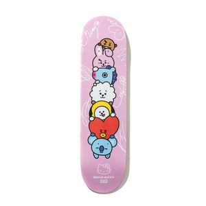 Stacked Pink Skatedeck