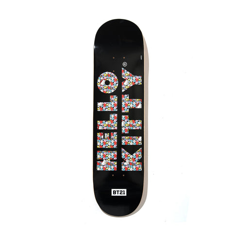 Puzzled Black Skatedeck