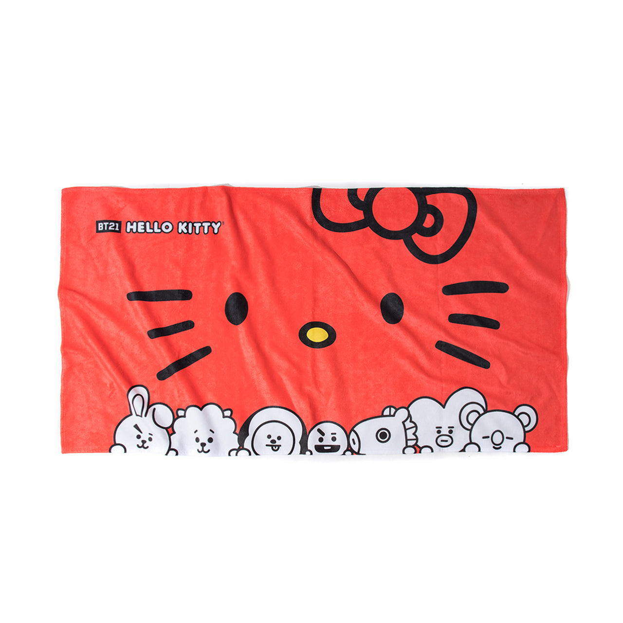 Bowtie Red Beach Towel