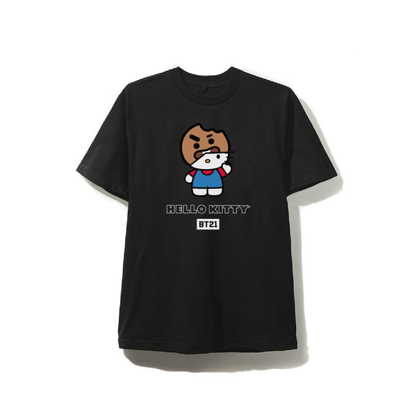 BT21 SHOOKY Masked Black Tee