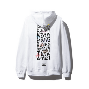 Octo White Hoodie