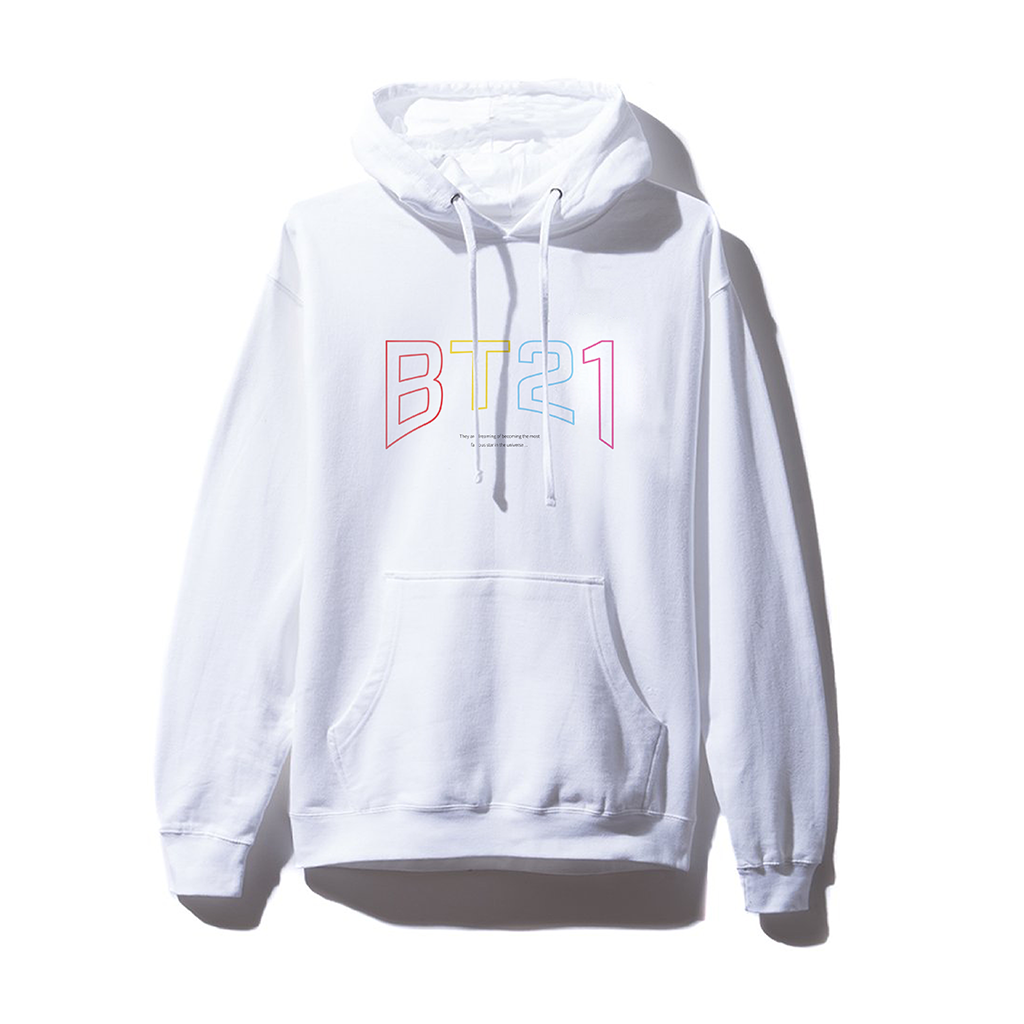 Hollywood White Hoodie
