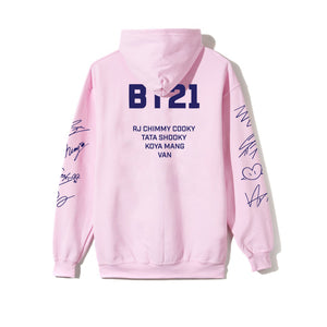 Roll Call Pink Hoodie