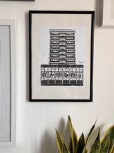 Load image into Gallery viewer, Apollo House Handmade Lino Print