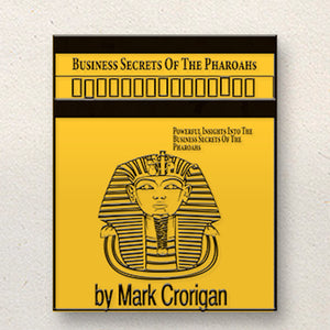 Business Secrets of The Pharaohs - Enamel Pin
