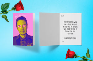 Say It With Super Hans - Valentine's Card