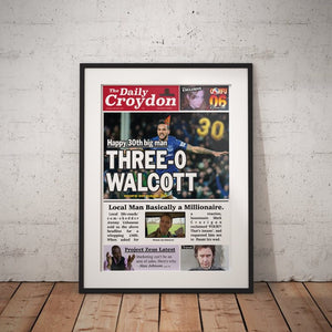 Three-O Front Page