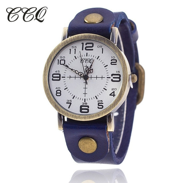 CCQ Vintage Watch (8 Colors)