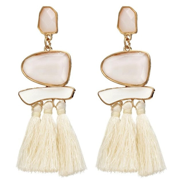 Brincos Drop Dangle Earrings