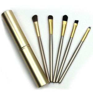 Horse Hair Travel Eye Brushes Set