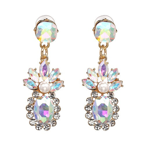 JUJIA  Collection Crystal Vintage Earrings