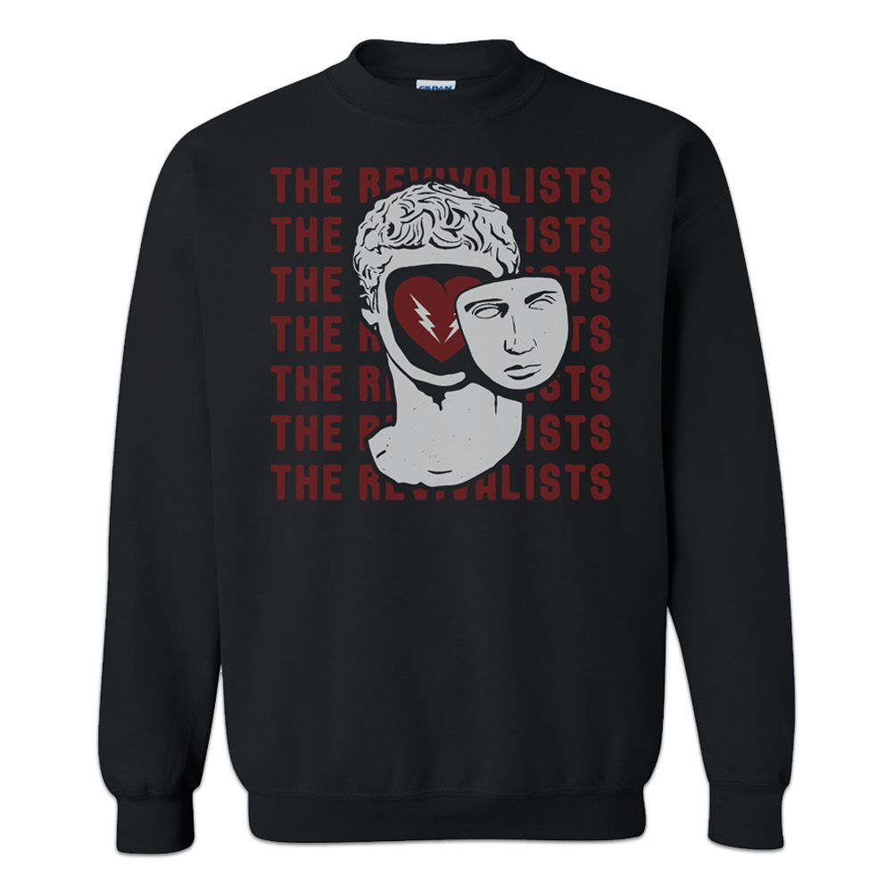 Statue Head Sweatshirt