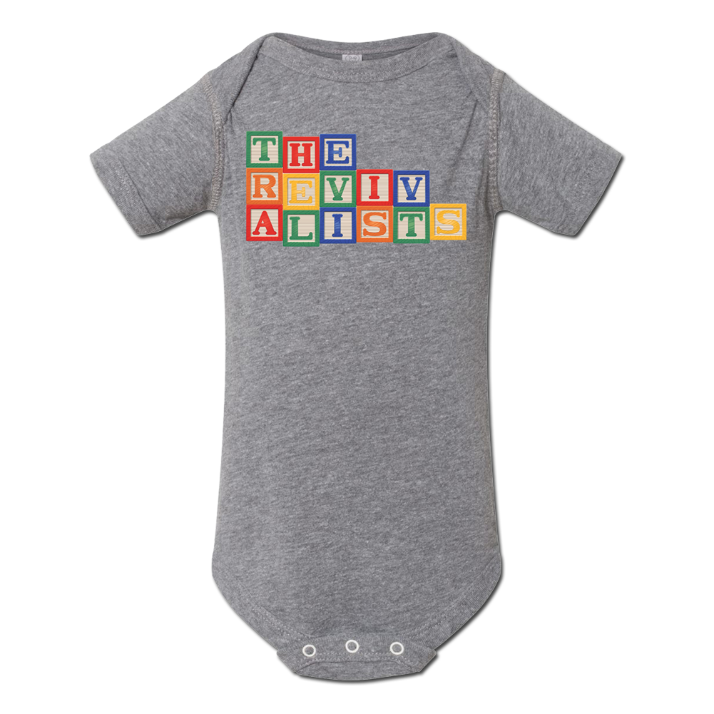 Toy Block Onesie