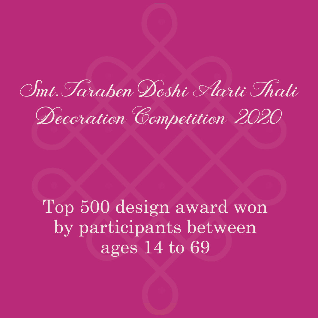 Top 500 Designs Award Winner - Age between 14 to 69