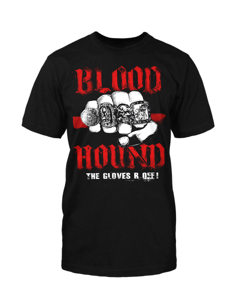 Gloves R Off! - Black Tee