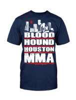 Houston MMA - Navy Tee
