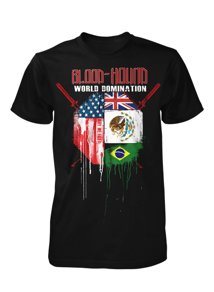World Domination - Black Tee