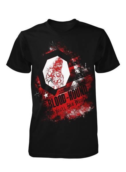You'll See Blood - Black Tee