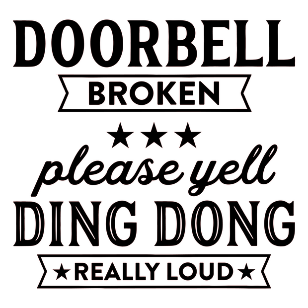 Broken Doorbell Paint Kit