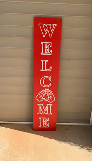 DST Welcome Porch Sign