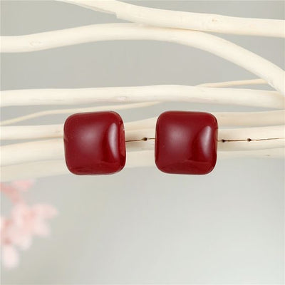 Candy Drop Stud Earrings