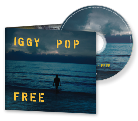 Iggy Pop - Free CD + Digital Album