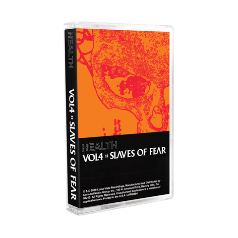 HEALTH - Vol. 4: Slaves of Fear Cassette Tape + Digital Album