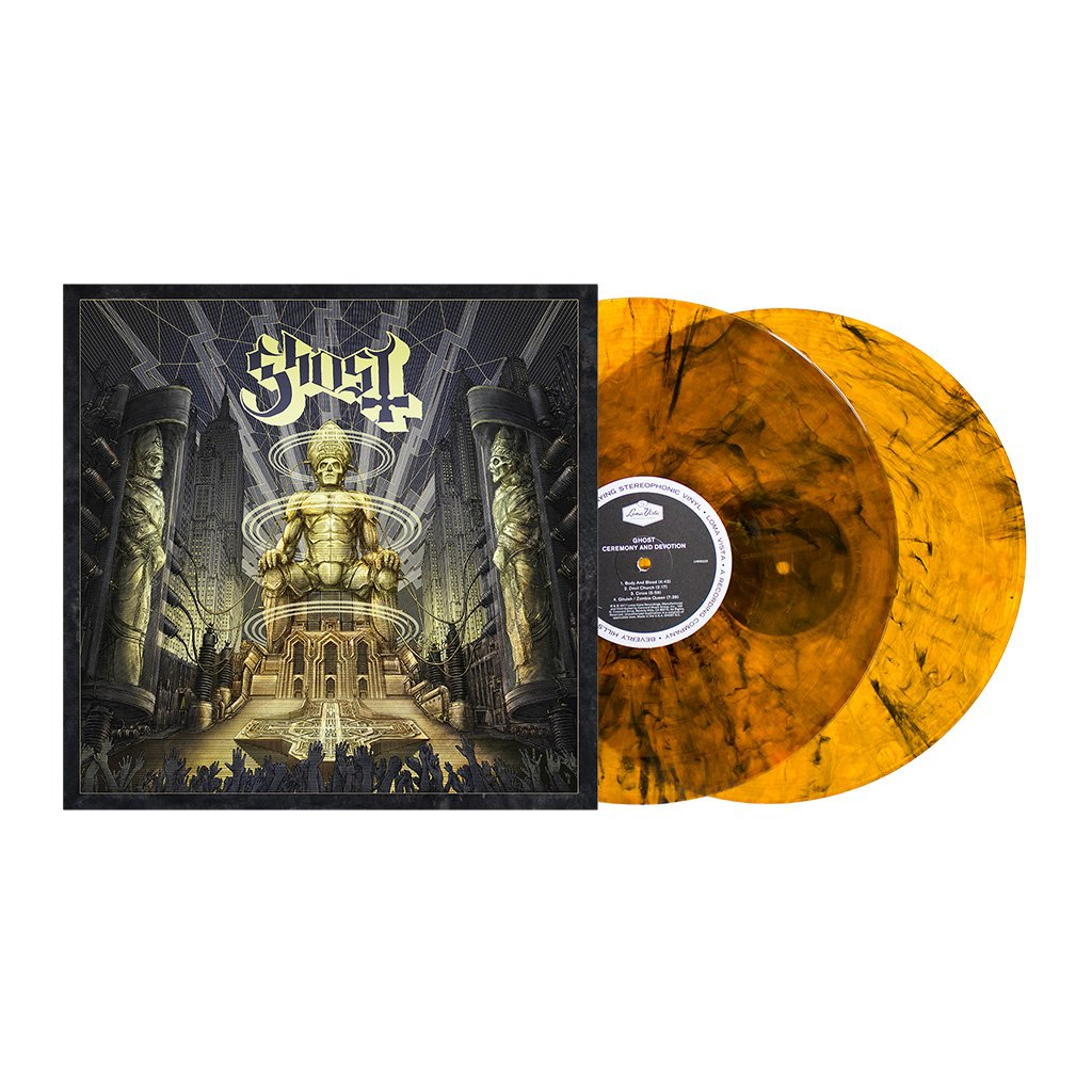3439ebc05cb Home   Ghost - Ceremony and Devotion D2C Exclusive Vinyl. Double tap to zoom