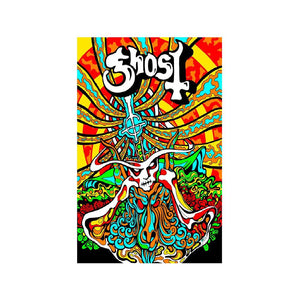 Ghost -  Seven Inches of Satanic Panic Poster