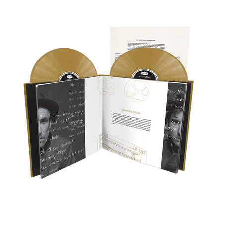 Andrew Bird - Hardcover Book Double Gold Vinyl Album