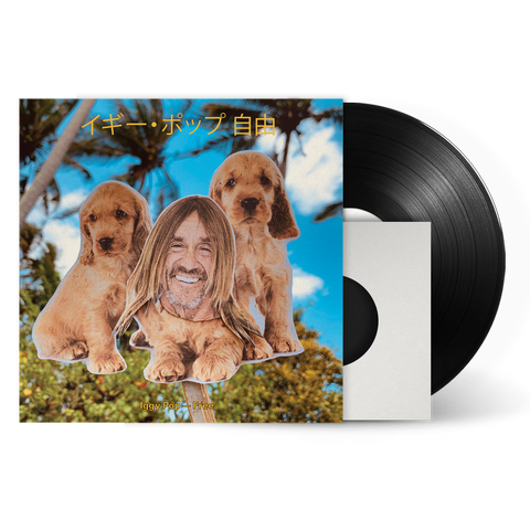 Iggy Pop - Limited Edition Free LP designed by Maurizio Cattelan + Digital Album