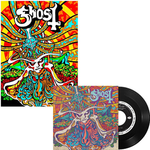 "Ghost - Seven Inches of Satanic Panic 7"" + Poster Bundle"