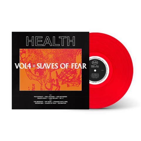 HEALTH - Vol. 4: Slaves of Fear Limited Edition Red LP + WAV Digital Album