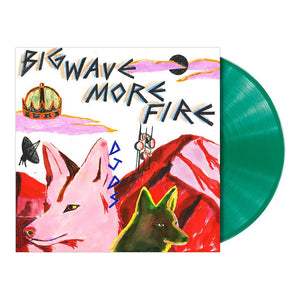 DJDS - Big Wave More Fire Opaque Green Vinyl