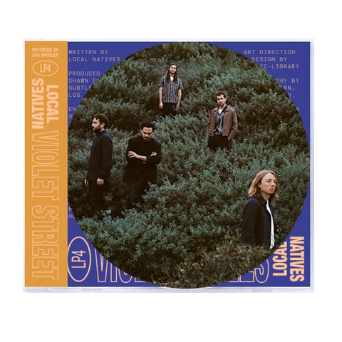 Local Natives - Violet Street CD + Digital Album