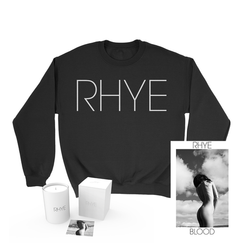 Rhye - Blood Poster + Crewneck + Candle Bundle