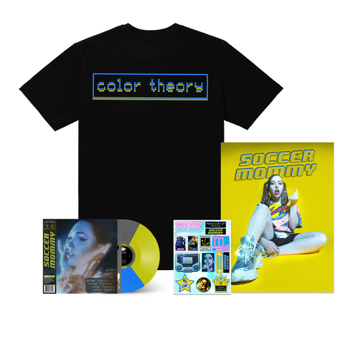 Soccer Mommy - Color Theory T-shirt + LP Bundle