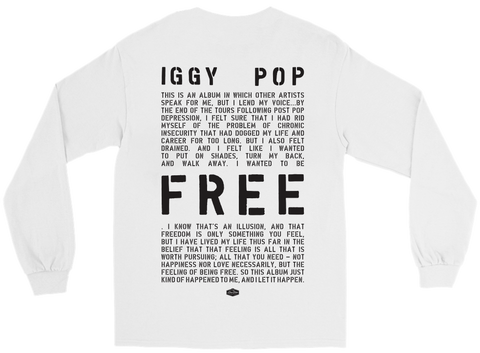 Iggy Pop - Free T-Shirt + Digital Album
