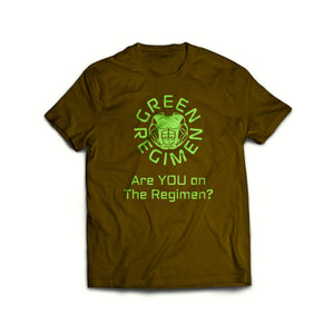Green Regimen Are you on the Regimen Black Classic Short Sleeve T-Shirt