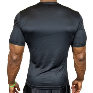 "Men's Team 365 Performance / Training Tee - Black ""Be Elite"" Edition"