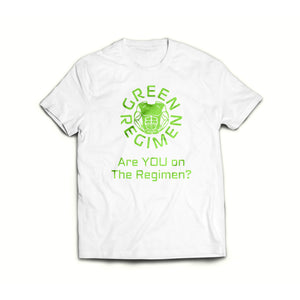 Green Regimen Are you on the Regimen White Classic Short Sleeve T-Shirt