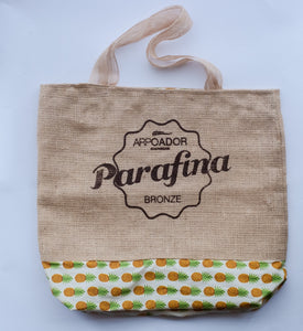 Parafina Bronze Natural Pineapple Bag