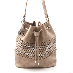 Marina Galanti PERFORATO Bucket Bag