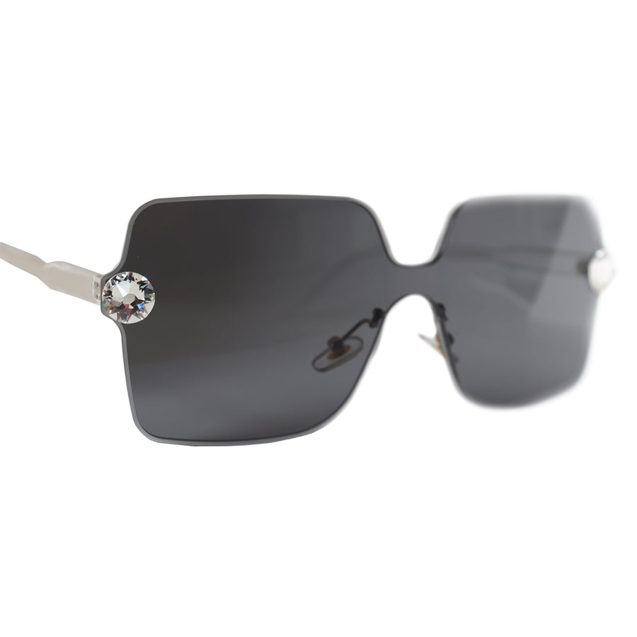 Naomi Crystal JewelShades (Black)